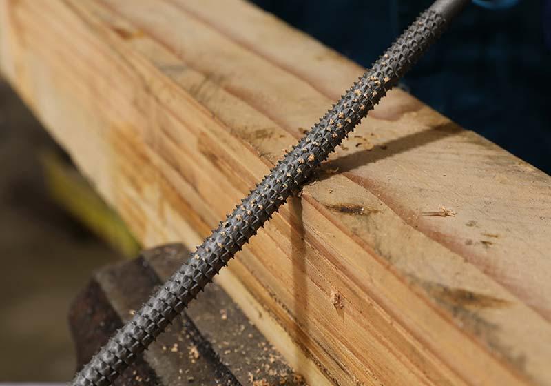 Round Wood Rasps